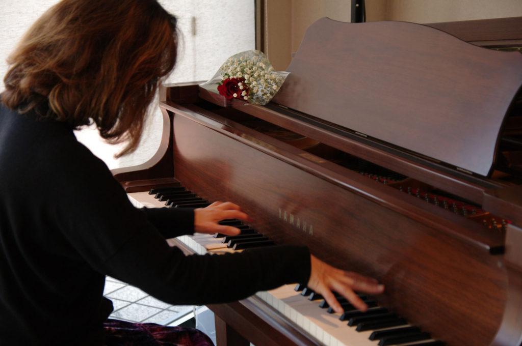 Play a piano